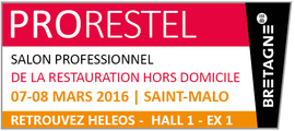 HELEOS au salon PRORESTEL